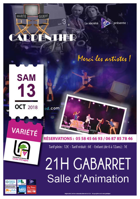 Spectacle Musical : Carpentier